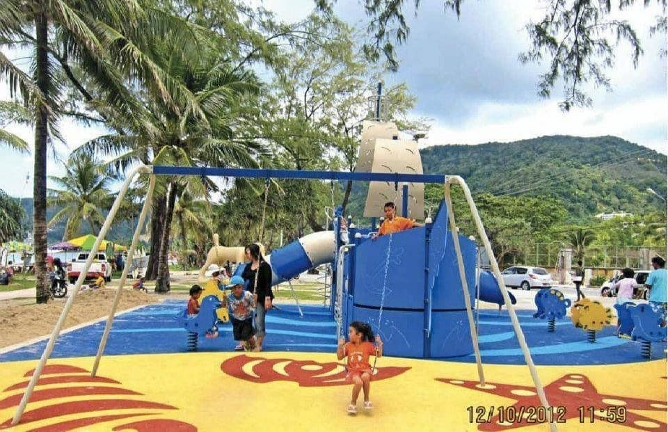 Outdoor Fitness Playground Equipment Supplier in India